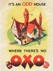 1951 ​OXO - vintage ad