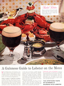 1958 ​Guinness - vintage ad
