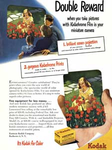 1950 Kodak advert