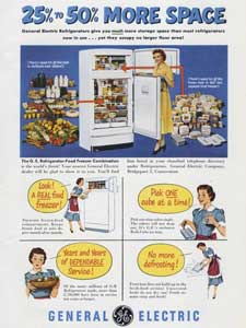 1951 General Electric Fridge Freezer