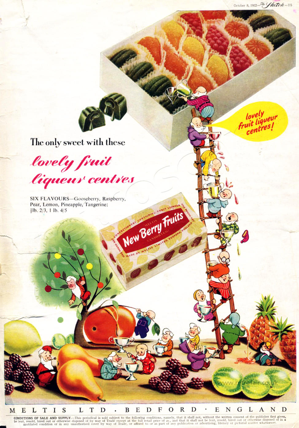 1952 New Berry Fruits