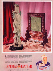 1952 Cusson Imperial Leather - vintage ad