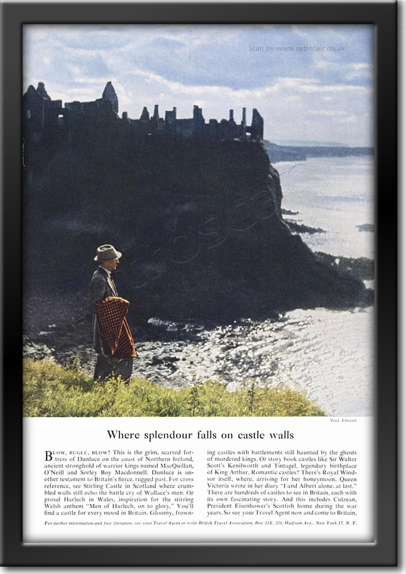 1953 vintage British Tourist Authority advert