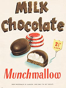 1953 ​Munchmallow - vintage ad