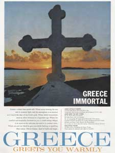 1962 Greek tourism ad