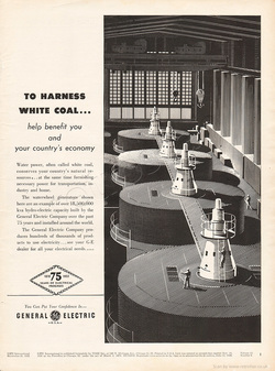 1953 General Electric - unframed vintage ad