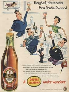 1955 Double Diamond Beer