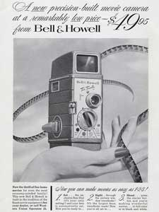 1953 Bell & Howell Movie Camera
