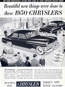 1950 Chrysler ad