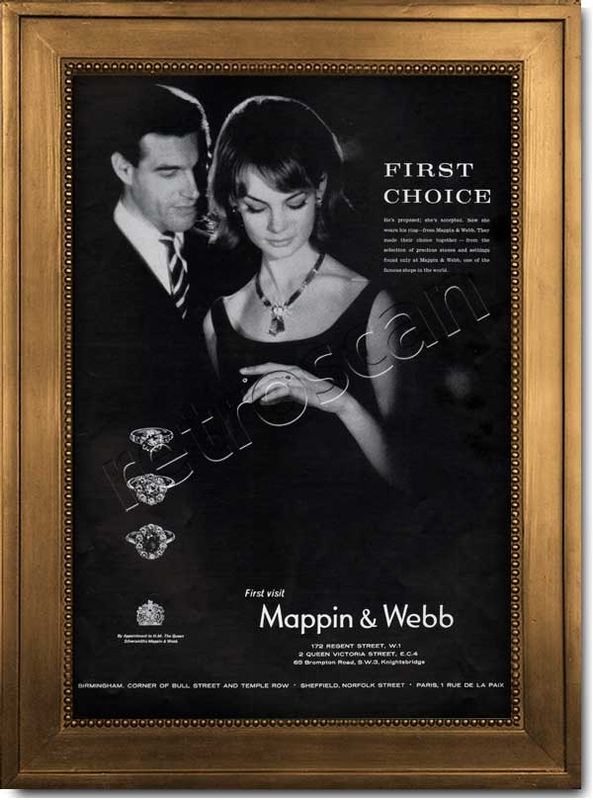 1962 Mappin and Webb advert