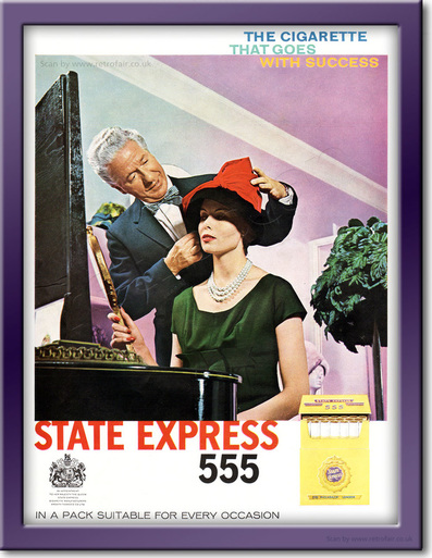 1961 State Express 555 - framed preview retro