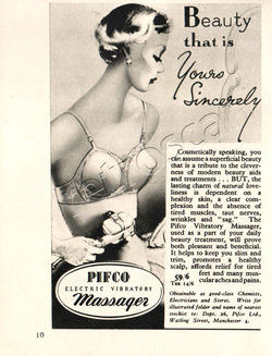 1951 Pifco Electric Massager ad