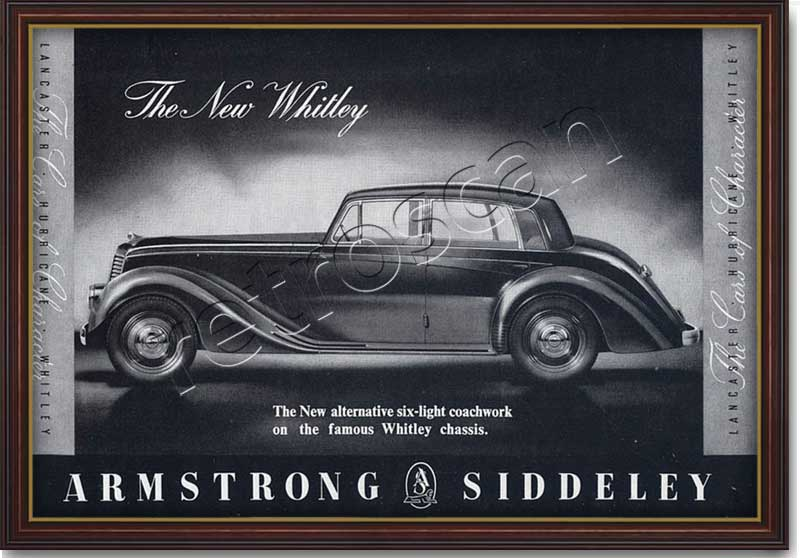 1952 Armstrong Siddeley - Whitley