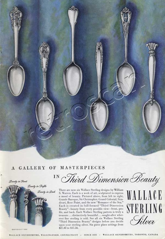 50 Wallace Sterling advert