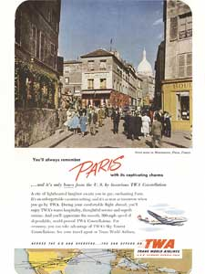 1952 TWA Paris