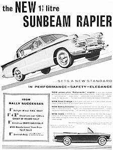 1958 ​Sunbeam Rapier