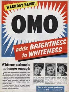 1954 OMO Washing Powder - vintage ad