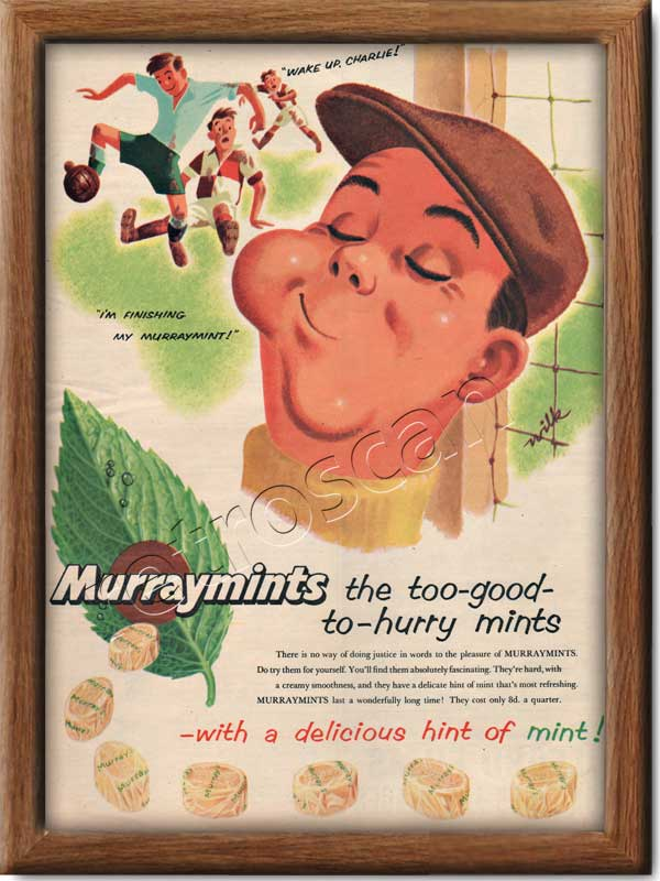 1955 Murraymints - framed preview