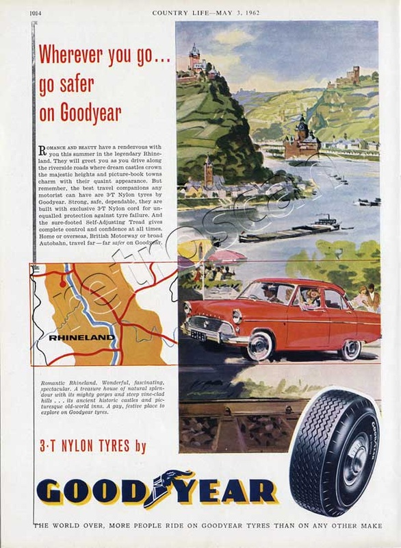 1962 Good Year Tyres