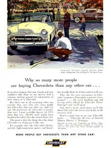 1953 Chevrolet Coupe - vintage ad