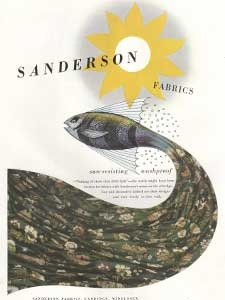 1952 Sanderson Fabrics and Walpaper