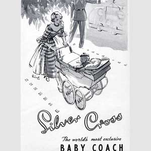 1950 Silver Cross Prams
