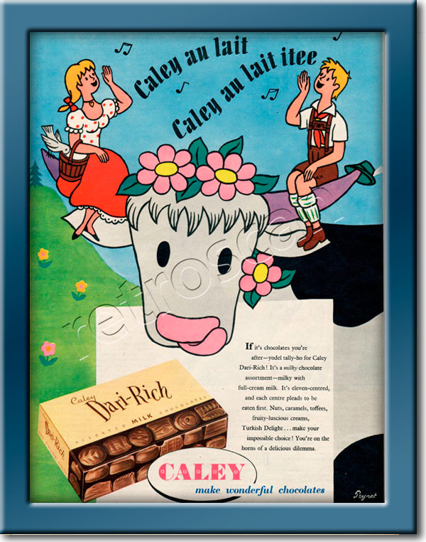 vintage 1955 Dari-Rich Chocolates