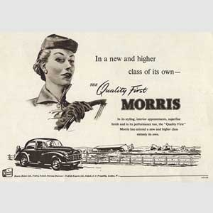 1952 Morris Quality First  - vintage