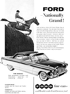 1958 Ford - vintage ad