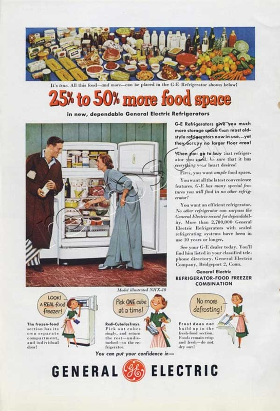 1951 GEC Food Freezer