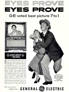 1953 General Electric TV (Ray Milland)