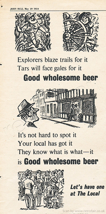 1954 Brewers' Society - unframed example