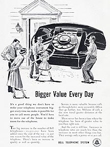 1949 Bell Telephone - vintage ad