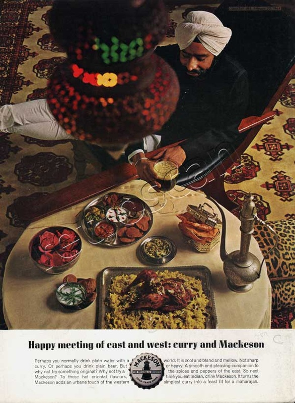 1964 Mackeson Beer Curry