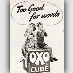 1952 ​OXO Cubes - vintage ad