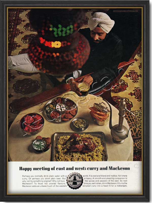 1964 vintage Mackeson Beer Curry
