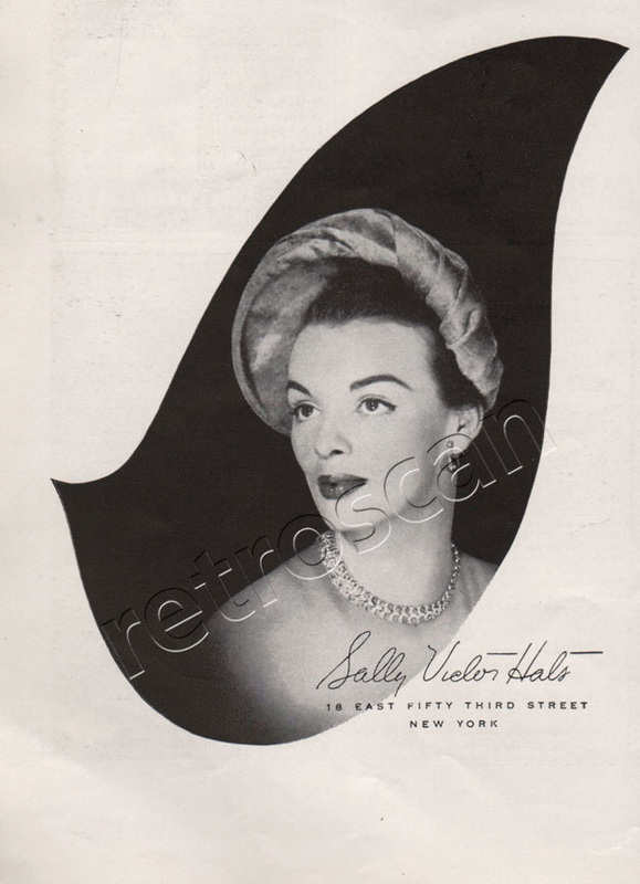 1949 Sally Vielon vintage ad