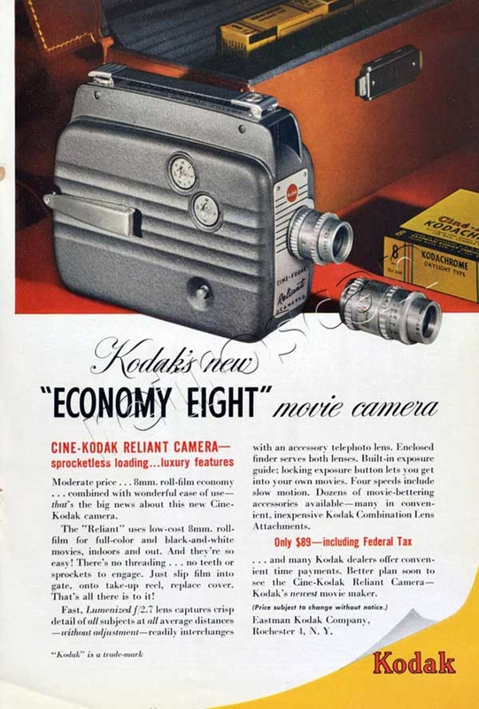 1949 Kodak Economy Eight