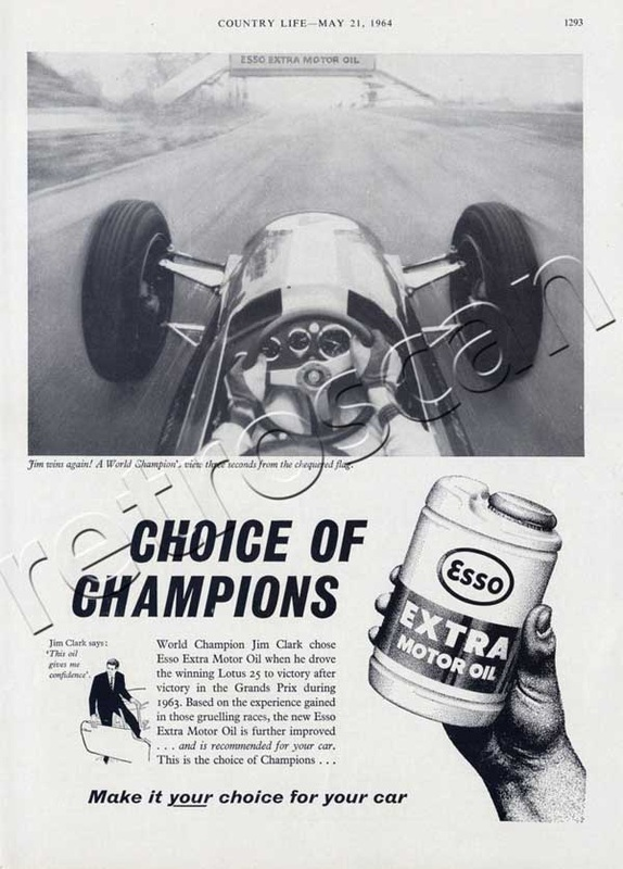 vintage Esso Extra Oil Advert