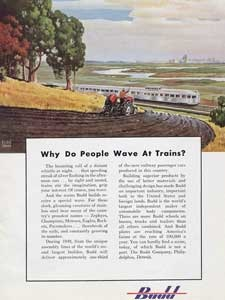 1949 Budd Engineering Farmer - vintage ad