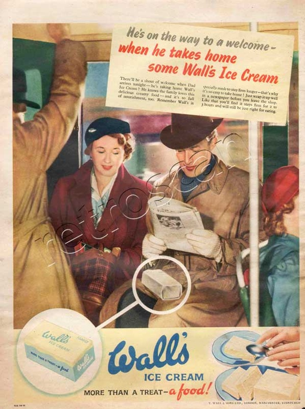 1952 vintage Wall's Ice Cream