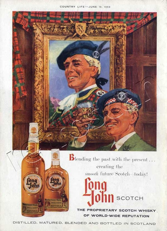 1959 Long John Scotch Whiskey