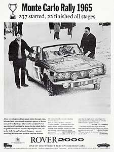 retro Rover advert