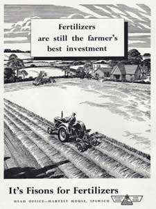 1949 1952 Fisons Fertiliser - vintage ad