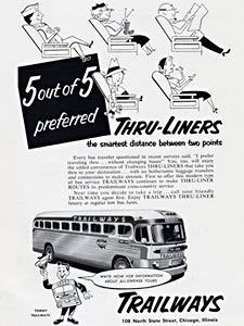 1953 Trailways