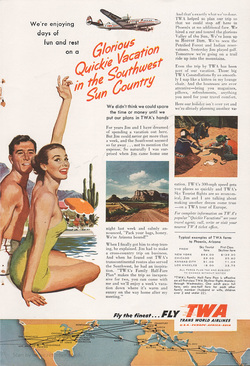 1953 TWA Vacation
