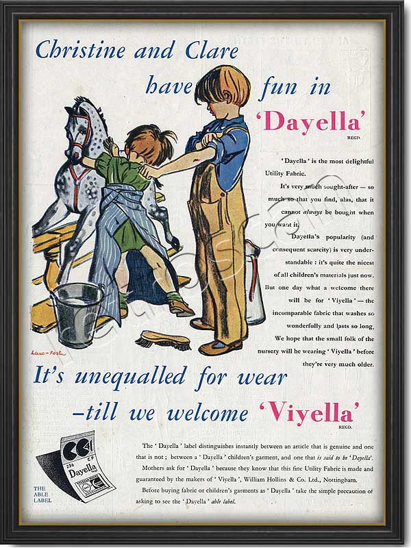 vintage Viyella advert