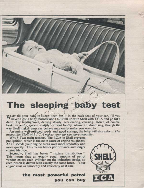 1955 Shell-ICA  vintage ad