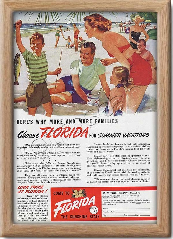 1949 Florida vacations