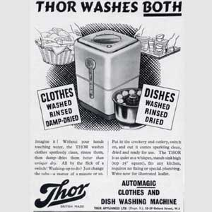 1949 Thor washing Machines